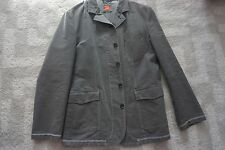 HUGO BOSS Mens Grey Sport Jacket. 44R. 100% Cotton. Made in Poland.