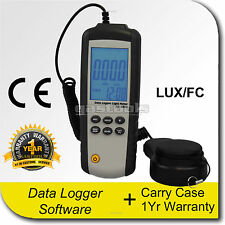 PRO LIGHT METER WITH PC INTERFACE LUX AND FC DATA LOGGER