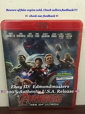 Avengers Age of Ultron 2015 Blu Ray Brand New Sealed Ships out Fast!!!