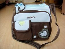 Small Heart Baby Diaper Nappy Changing Bag Blue
