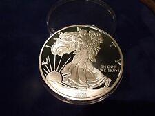 2016 Proof Silver Eagle ONE TROY POUND .999 fine silver 12 TROY OUNCES IN STOCK