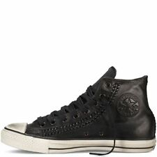 NIB $170 Converse by John Varvatos CT Hi Woven Leather Black 142958C USMens 10.5