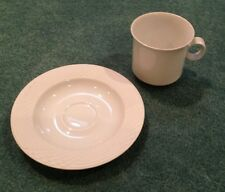 hutschenreuther China Seta Pattern Cup & Saucer