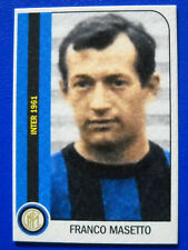 FIGURINA TUTTA L'INTER 1950/1981 - FRANCO MASETTO - new