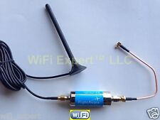 ADS-B 1090MHz Band-pass SMA Filter plus Car Antenna + Pigtail for FlightAware