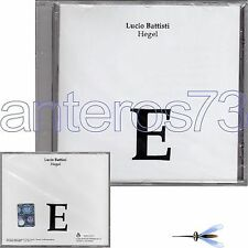 "LUCIO BATTISTI ""HEGEL"" CD SONYBMG - SIGILLATO"