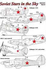 AML Models Decals 1/48 SOVIET STARS IN THE SKY Russian Insignia
