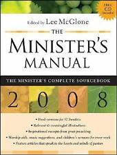 The Minister's Manual 2008 Edition (Minister's Manual)