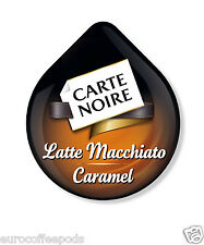 24 x Tassimo Carte Noire Latte Macchiato Caramel Coffee 12 Servings Sold Loose