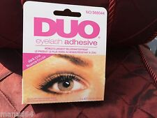1 colle faux cils eyelash glue transparente DUO