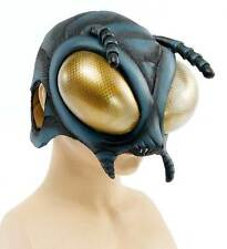 MENS FLY INSECT BUG MASK LATEX ALIEN HORROR HALLOWEEN FANCY DRESS COSTUME MASK