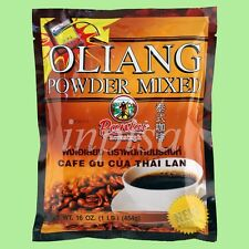 THAI COFFEE 8 Bags x 1 Lb OLIANG POWDER MIXED THAILAND PANTAI