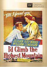I'D Climb The Highest Mountain (2014, DVD NEUF) DVD-R