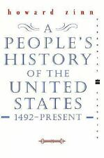 A People's History of the United States by Howard Zinn (2001, Paperback,...