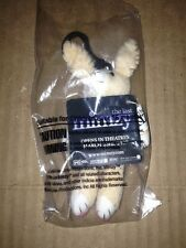 The Last Mimzy Bunny Rabbit Plush Stuffed 2007 Key Chain MIP