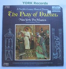 DL 79402 - THE PLAY OF DANIEL - New York Pro Musica NOAH GREENBERG- Ex LP Record