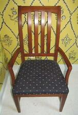Ethan Allen Cherry Splatback Arm Chair 6401A American Impressions Collection