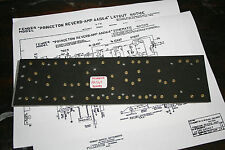 Fender style fiber board circuit board AA1164 princeton reverb amp
