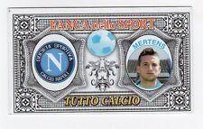 figurina BANCA DELLO SPORT TUTTO CALCIO 2014/2015 NAPOLI MERTENS