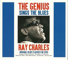 THE GENIUS RAY CHARLES SINGS THE BLUES - 3 CD BOX SET - I'M MOVIN' ON & MORE