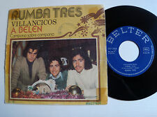 """RUMBA TRES Villancicos : A Belen / Campana sobre campana 7"""" 1975 BELTER 05-135"""
