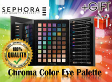 Sephora Makeup Palette Chroma Color Eyeshadow Palette+cosmetic bagCHRISTMAS GIFT