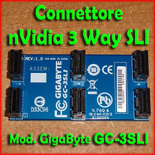 ★ Connettore nVidia 3-WAY SLI ★ Modello GigaByte GC-3SLI ★ Bridge Nuovo ★