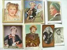 12463 Wüst, Ida : 7 x Trading card original Sammelbilder in sw und Farbe