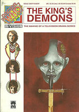 RARE Doctor Who Magazine - IN-VISION #68 - THE KING'S DEMON  1996 - 20 pages
