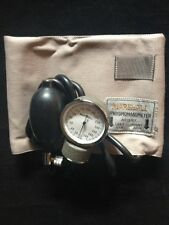 NEW MARSHALL Sphygmomanometer, Aneroid, Adult Blood Pressure Cuff Military