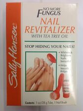 SALLY HANSEN NO MORE FUNGUS NAIL REVITALIZER WITH TEA TREE OIL NEW.