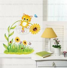 Naughty cat Home Decor Removable Wall Sticker/Decal/Decoration