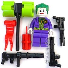 BM058w Lego Batman Defend the Batcave - Joker Minifigure Mess Weapons 10672 NEW