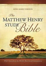 The Matthew Henry Study Bible King James Version (Hardcover) KJV, 2010