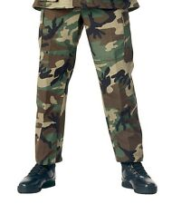 Military BDU Pants - Army Cargo Fatigue Camouflage Camo
