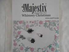 New Card-io Majestix Clear Stamps Peg Stamps Whimsey Christmas