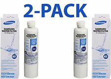 2 PACK Genuine OEM Samsung Da29-00020b Refrigerator Water Filter New Free Ship