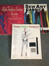 Fashion Design Textbook Lot Sewing Young Fashion Designers