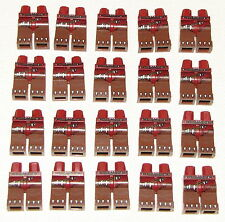 LEGO LOT OF 20 NEW REDDISH BROWN CHIMA BEAR CLAWS PANTS MONSTER LEGS