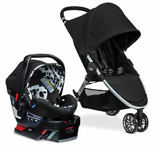 Britax 2017 B-Agile Stroller & B-Safe 35 Elite Travel System In Cowmooflage New!