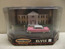 MATCHBOX ELVIS PRESLEY 1955 PINK CADILLAC THE GRACELAND COLLECTION
