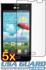 5x LG Optimus F3 P659 MS659 (T-Mobile MetroPCS) Clear LCD Screen Protector Guard