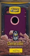 "OtterBox DEFENDER iPhone 7 Plus + ""Vinaysia"" Case purple pink~Reg $60"