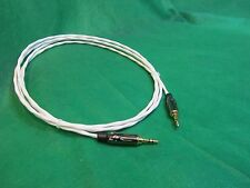"""20 Ft SILVER PLATED 3.55 MM 1/8"""" Stereo AUX Auxiliary Cable for iPod MP3 Cable."""