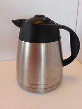 Starbucks Barista Aroma Stainless Steel Thermal Coffe Pot Carafe 40 OZ 5 C BA1TC