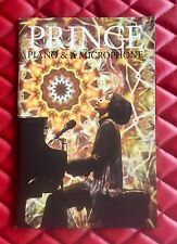 New Sealed Prince Piano & Microphone Concert Tour Book 2016 Rare Concert Program