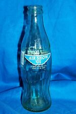 Air Show 2001 Coca Cola Classic Bottle Coke 8 Oz Ounce Old Vintage Aviation AR
