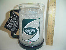 NEW York Jets Football FREEZER MUG Cup Duckhouse TEAM 16 OZ tailgate PARTY GaME