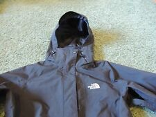 THE NORTH FACE HOODED HYVENT PIT ZIPS LIGHT WEIGHT JACKET BLACK WOMENS S/P
