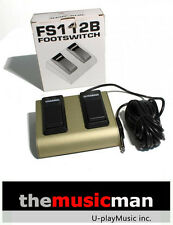 Behringer 2 Channel Footswitch FS112B **NEW**